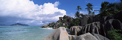 Source Photograph - Anse Source Dargent Beach With Praslin by Panoramic Images