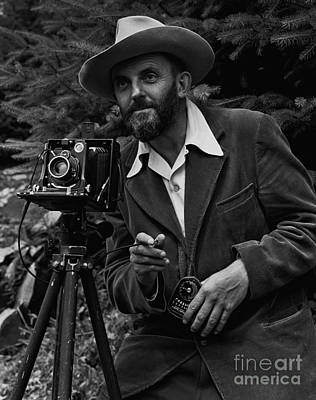 Yosemite Photograph - Ansel Adams by Celestial Images