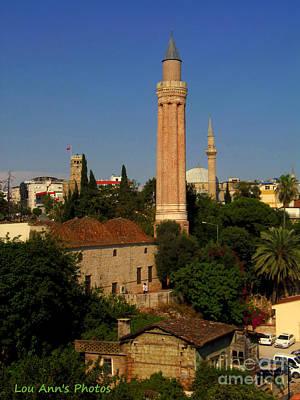 Photograph - Antalya Mosque by Lou Ann Bagnall