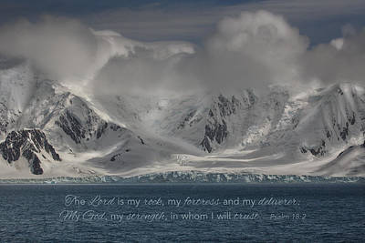Photograph - Antarctic Coastal Mountains by June Jacobsen