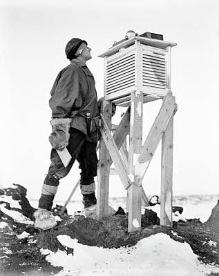Zoologist Photograph - Antarctic Meteorology Research by Scott Polar Research Institute