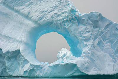 Antarctica Charlotte Bay Giant Iceberg Art Print