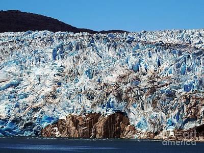Painting - Antarctica Glacier 2 by Vicky Tarcau