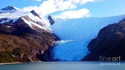 Photograph - Antarctica Glacier by Vicky Tarcau