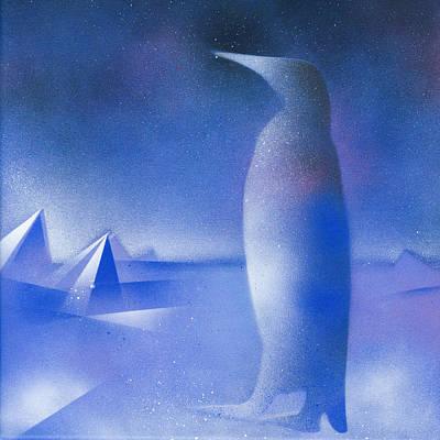 Spray Can Painting - Antarctica by Hakon Soreide