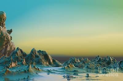 Surrealism Digital Art - Ante somnum - Surrealism by Sipo Liimatainen