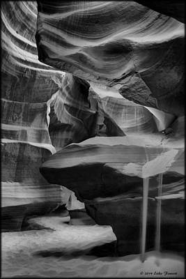 Photograph - Antelope Canyon 2 by Erika Fawcett