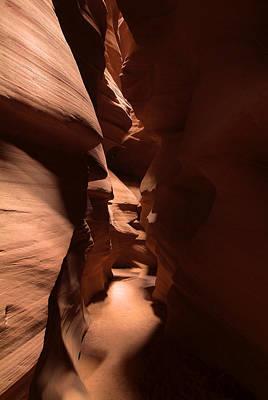 Photograph - Antelope Canyon 7 by Richard J Cassato
