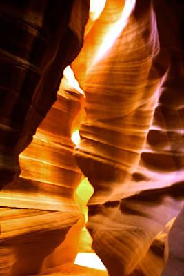 Flash Floods Photograph - Antelope Canyon Page Arizona by Aidan Moran