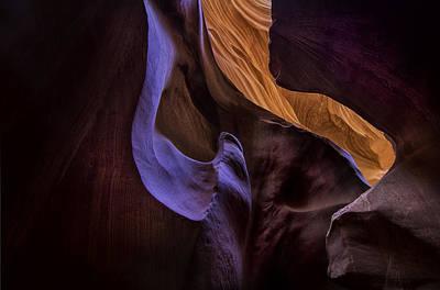 Antelope Canyon Colors Art Print