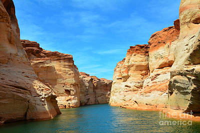 Photograph - Antelope Canyon Lake Powell by Debra Thompson