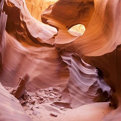 Antelope Canyon Rocks Art Print by Melanie Viola
