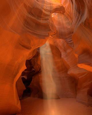 Antelope Canyon Spirit Dance-11 Art Print