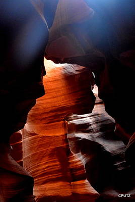 Photograph - Antelope Canyon Upper 5 by Carrie Putz