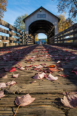 Photograph - Antelope Creek Bridge by Mick Anderson