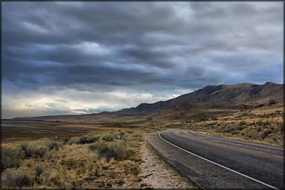 Photograph - Antelope Island Storm by Erika Fawcett