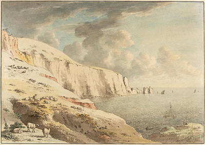 Anthony Devis British, 1729 - 1817, View Of The Needles Art Print by Quint Lox