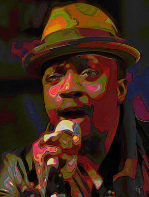 Anthony Hamilton Original by  Fli Art