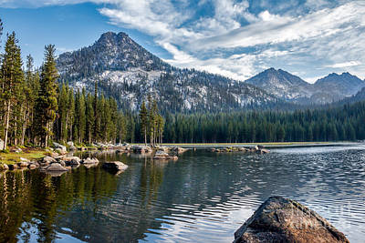 Anthony Lake Art Print by Robert Bales