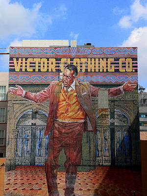 Photograph - Anthony Quinn Mural  by Jeff Lowe