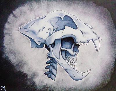 Anthro Art Print by Matt N