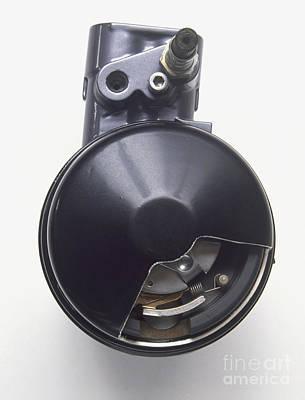 Braking Photograph - Anti-lock Braking System by Dave Rudkin / Dorling Kindersley