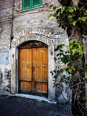 Photograph - Antica Bottega by Alessandro Della Pietra
