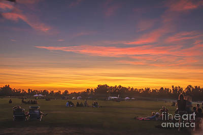 Photograph - Anticipation Sunset by Robert Bales