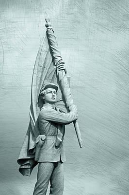 Photograph - Antietam Civil War Monument by Phil Cardamone