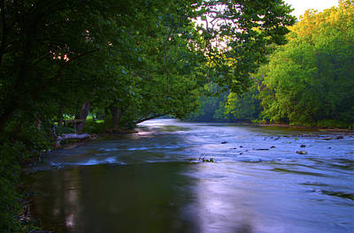 Md Digital Art - Antietam Creek - Hagerstown Maryland by Bill Cannon