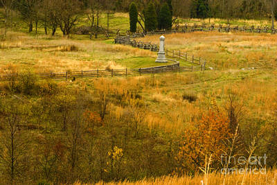 Photograph - Antietam In Autumn by Paul W Faust -  Impressions of Light