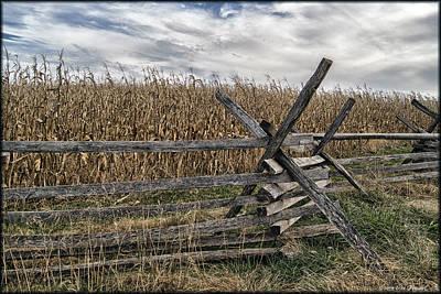 Photograph - Antietam National Battlefield by Erika Fawcett