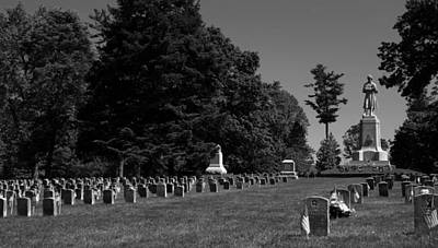 Antietam National Cemetery Art Print
