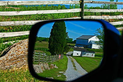 Art Print featuring the photograph Antietam Reflections by Andy Lawless
