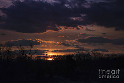 Photograph - Antietam Sunset by Ronald Lutz