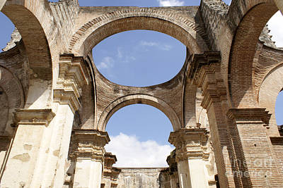 Photograph - Antigua Cathedral Ruins by John  Mitchell