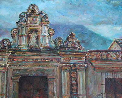 Guatemala Painting - Antigua by Emily Olson