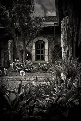 Antigua Garden Art Print by Tom Bell