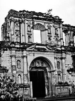 Photograph - Antigua by Norchel Maye Camacho