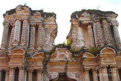 Costarica Photograph - Antigua Ruins by Carey Chen
