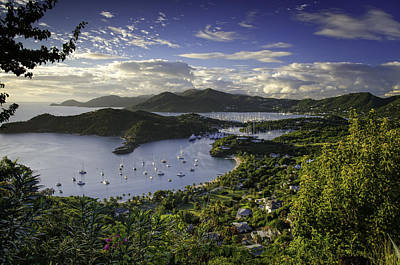 Antigua Sunset From Shirley Heights Art Print