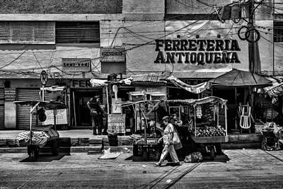 Print featuring the photograph Antioquena Barranquilla  by Rob Tullis