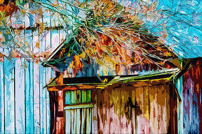 Shed Digital Art - Antiquated Angles 2 by Brian Stevens
