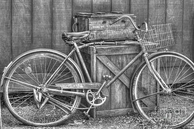 Photograph - Antiquated Bike by Bianca Nadeau