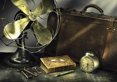 Photograph - Antique 01 by Niels Nielsen