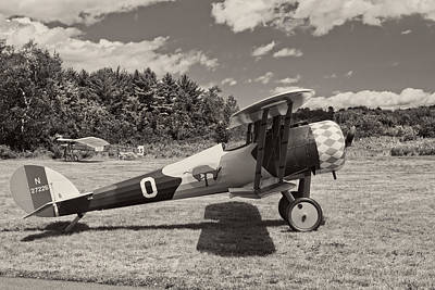 Photograph - Antique 1917 Nieuport 28c.1  Biplane by Keith Webber Jr