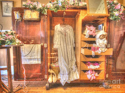 Photograph - Antique Armoire by Liane Wright