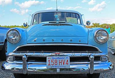 Photograph - Antique Automobile 3 by Michael Saunders