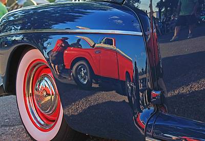 Photograph - Antique Automobile 4 by Michael Saunders