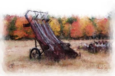 Painting - Antique Autumn 1067 20141003 by Julie Knapp